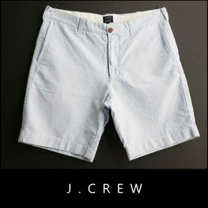 J. Crew Men's Relaxed Fit Cotton Dress Shorts 34